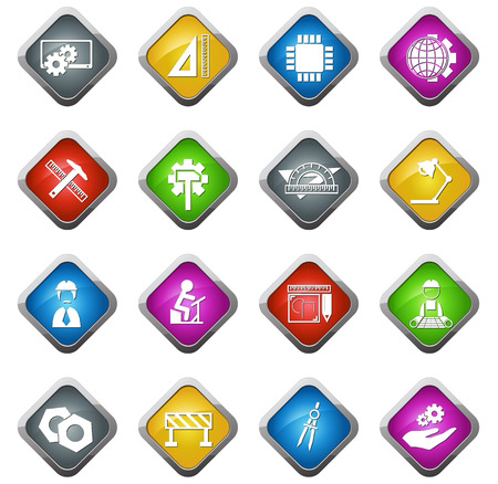 mend: Engineering vector icons for web sites and user interfaces