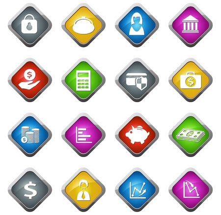 Business and Finance vector icons for web sites and user interfaces