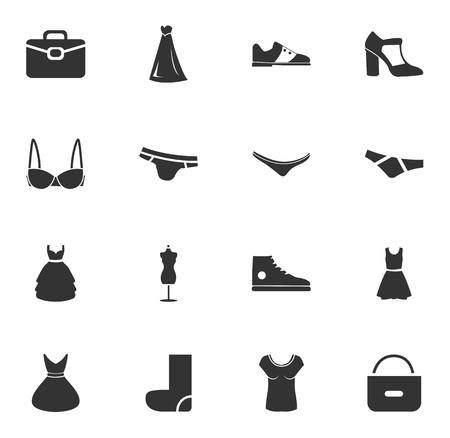 running pants: Clothes simply icons for web and user interfaces