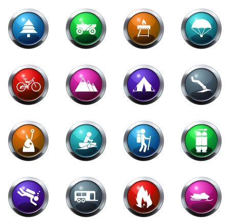 Activa el color del icono de recreo para los sitios web e interfaces de usuario