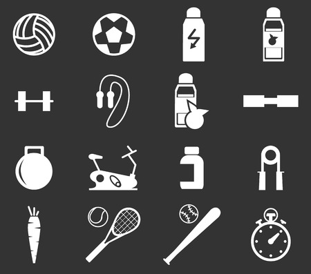 joga: Sports simply icons for web and user interfaces