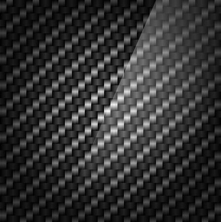 carbon fiber: Patrón de fibra de carbono Vectores