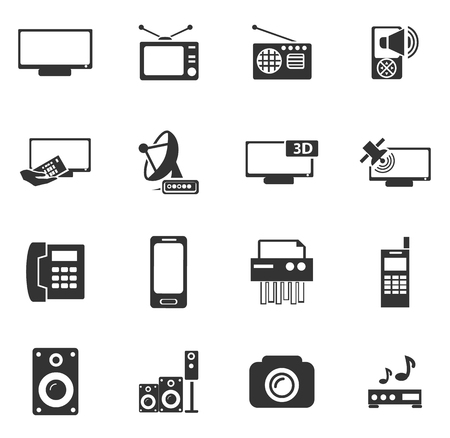 mouse pad: Home appliances symbol for web icons and user interface
