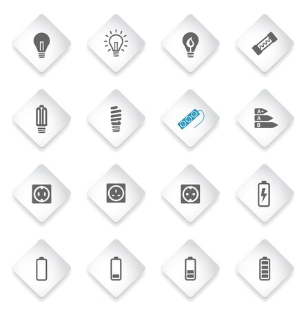 transistor: Electricity simply symbol for web icons and user interface Illustration