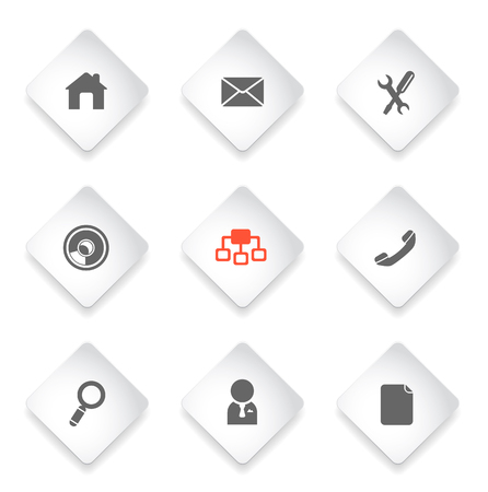 icons site search: Navigation simply symbols for web and user interface