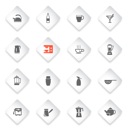 siphon: Utensils simple icons for web and user interfaces