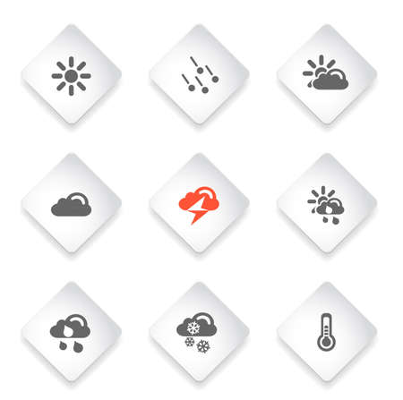 hailstone: Weather simple vector icons for web and user interface