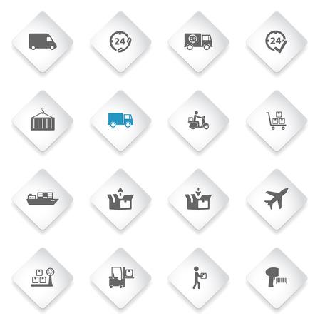 motor de carro: Entrega simplemente símbolo de iconos de la web y la interfaz de usuario