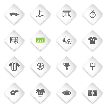 scores: Football  simply symbol for web icons and user interface