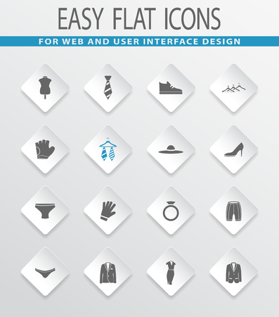 running pants: Clothes easy flat web icons for user interface design