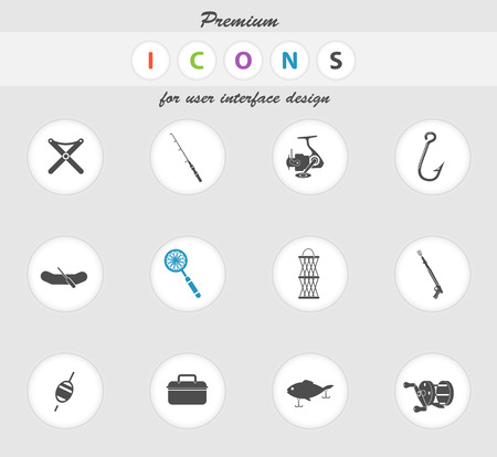 wobler: Fishing icon for web sites and user interface