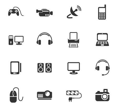 mouse pad: devices web icons for user interface design
