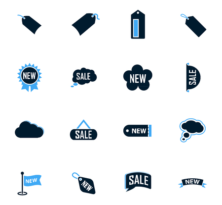 stiker: New stiker and label icon set for web sites and user interface