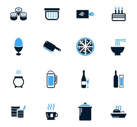 seemed: Food and kitchen symbol for web icons