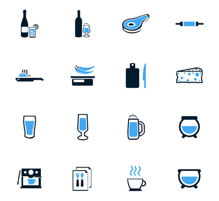 iron fan: Food and kitchen symbol for web icons