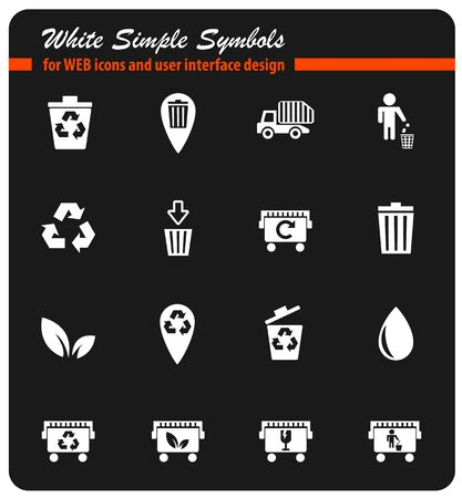 Garbage simply icons