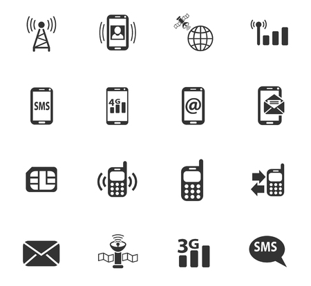 proceeding: Mobile connection web icons for user interface design