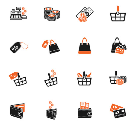 marketing and e commerce icons for web and user interface royalty