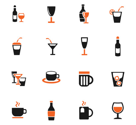 highball: Glasses web icons for user interface design