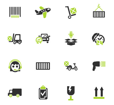 delivery service web icons for user interface design Stok Fotoğraf - 73822365