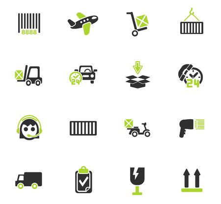 Icônes Web de service de livraison pour la conception d'interface utilisateur Banque d'images - 73822365