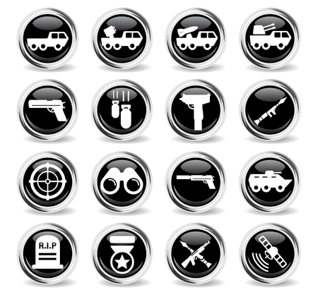 bombing: Military simply symbol for web icons and user interface