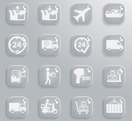 Delivery simply symbol for web icons and user interface