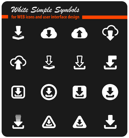 download vector icons for user interface design
