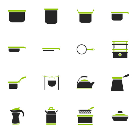 Dishes simply icons for web and user interfaces