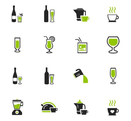 飲料アイコン web サイトおよびユーザー インターフェイスのセットの準備のための道具 写真素材 - 74319148
