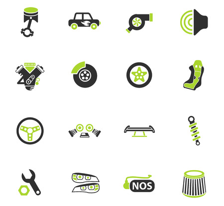 auto tuning web icons for user interface design