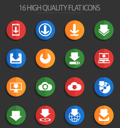 download vector icons for web and user interface design
