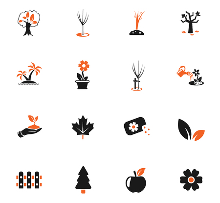 plants measuring tools web icons for user interface design Banco de Imagens - 112079793