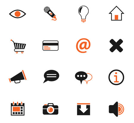 user interface web icons for user interface design