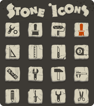 work tools vector icons for web and user interface design