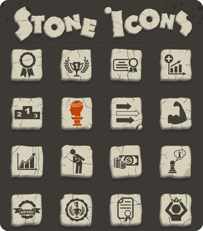 success web icons for user interface design