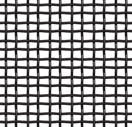 Metal grill grid seamless vector pattern, vector background