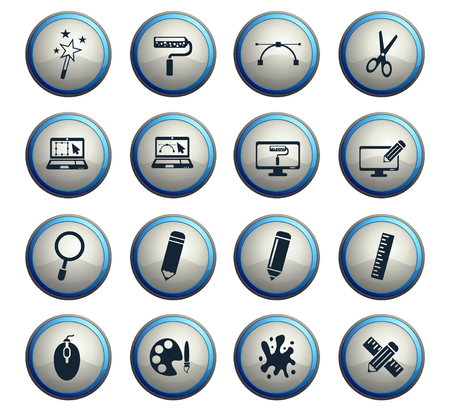 design web icons for user interface design