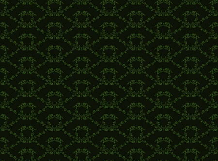 Abstract decorative seamless pattern in vintage style