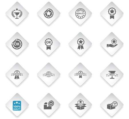 quality flat rhombus web icons for user interface design
