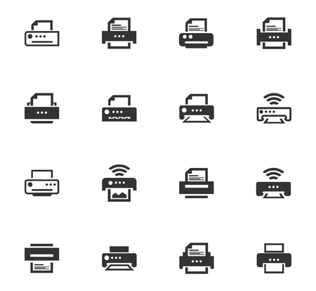 Print web icons for user interface design