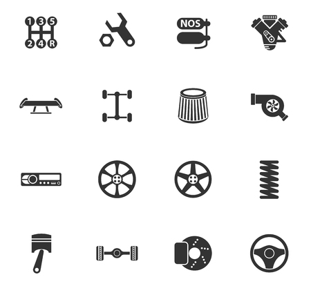 auto tuning vector icons for web and user interface design