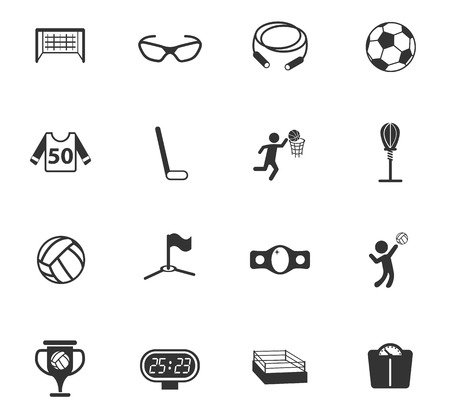 sport vector icons for web and user interface design