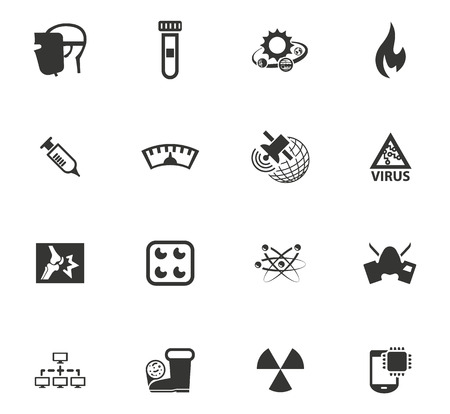 Courses school vector icons for user interface design