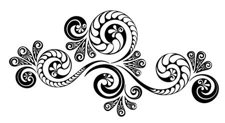 Bordures calligraphiques décoratives vintage. Signalétique de modèle, logos, étiquettes, autocollants, cartes. Éléments de design classiques pour cartes de vœux, diplômes, certificats et récompenses. Page de conception graphique. Logo
