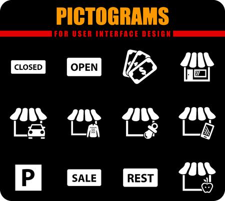 Kupuj profesjonalne piktogramy wektorowe do projektowania interfejsu użytkownika