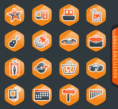 Travel icon set for web sites and user interface