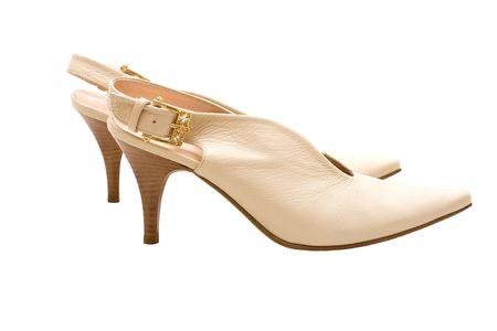 women shoes isolated on white background Stock Photo - 5342372