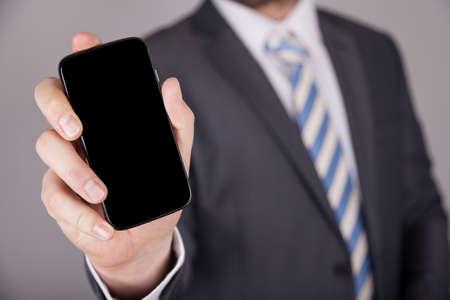 call: Geschftsmann Smartphone