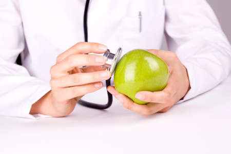 private hospital: doctor apple stethoscope